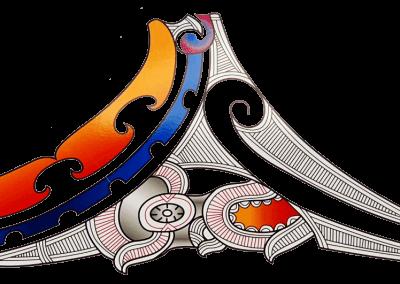 Ngāti Hāua Logo