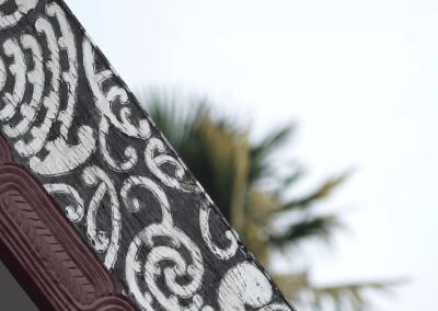 Maihi detail on Hinengākau wharenui